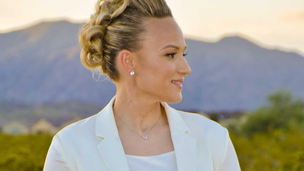 Wedding dress for civil wedding in Gilbert AZ